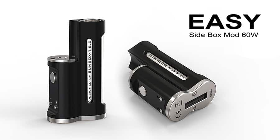 Ambition Mods Easy side Box 60W MOD www.e-smoke.sk