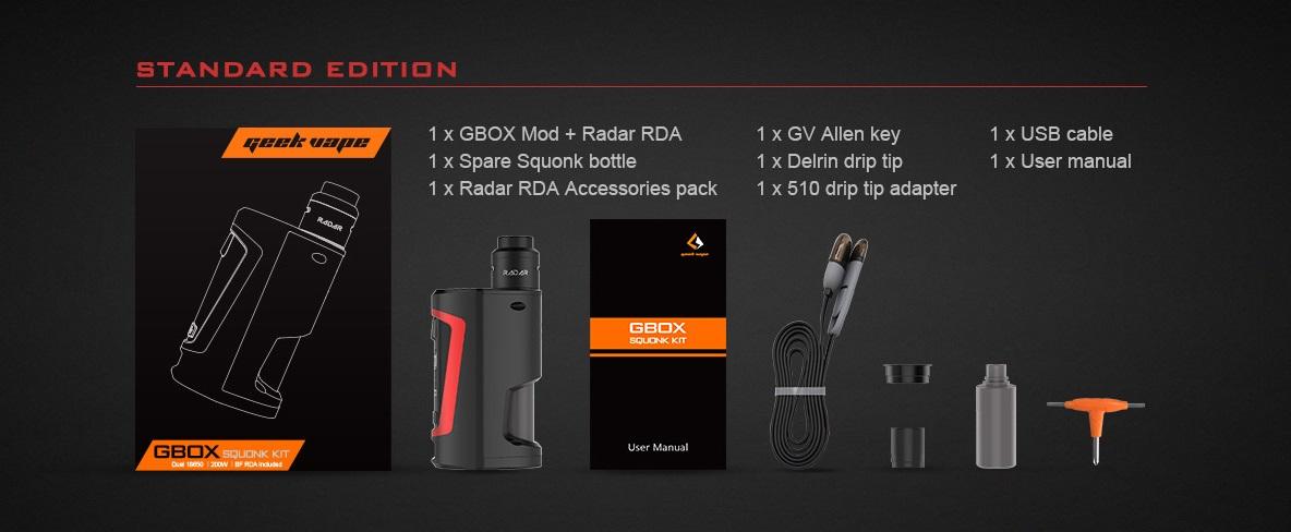 GeekVape GBOX Squonker 200 W Kit (www.e-smoke.sk)