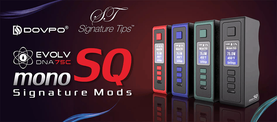 Dovpo X Signature Mods - Mono SQ DNA 75C Mod (www.e-smoke.sk)