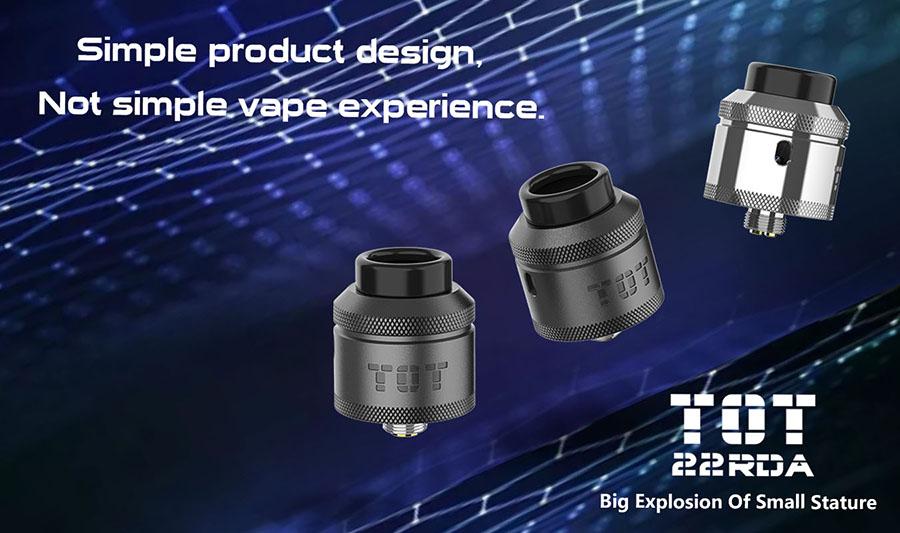 R-Vape TOT RDA 22mm www.e-smoke.sk