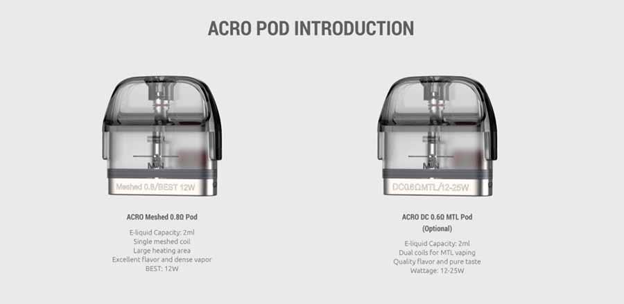 Smok Acro pod system (www.e-smoke.sk)