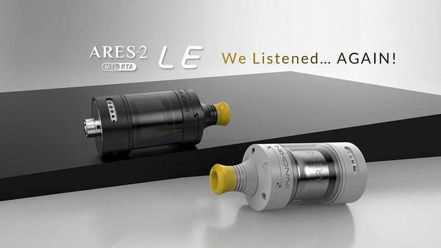 Innokin Ares 2 LE RTA MTL at e-smoke vape shop