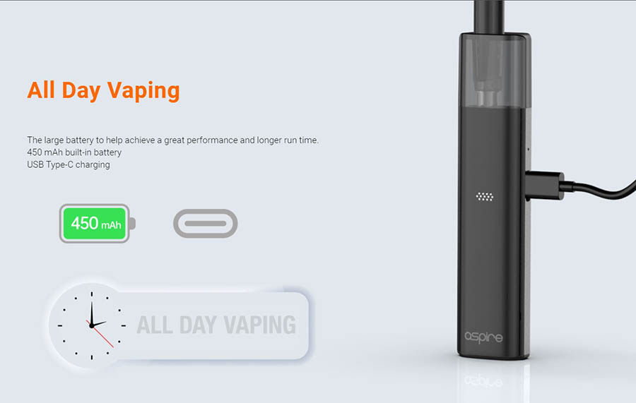 Aspire Vilter 450mAh POD SADA www.e-smoke.sk