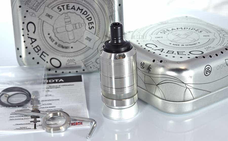 Steampipes Cabeo MTL RTA www.e-smoke.sk
