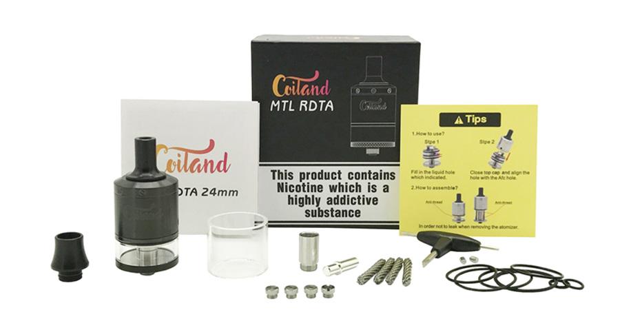 Coiland MTL RDTA 24 mm www.e-smoke.sk
