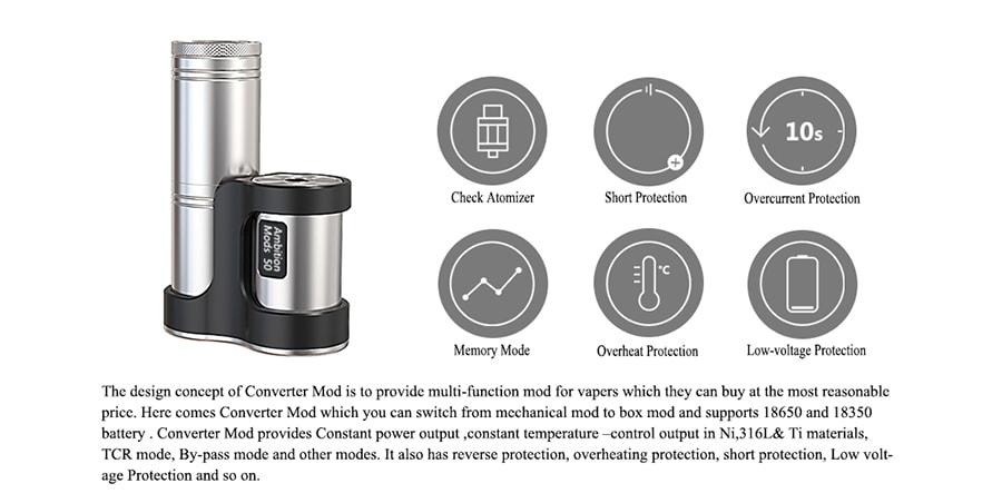 Ambtion Mods Converter www.e-smoke.sk