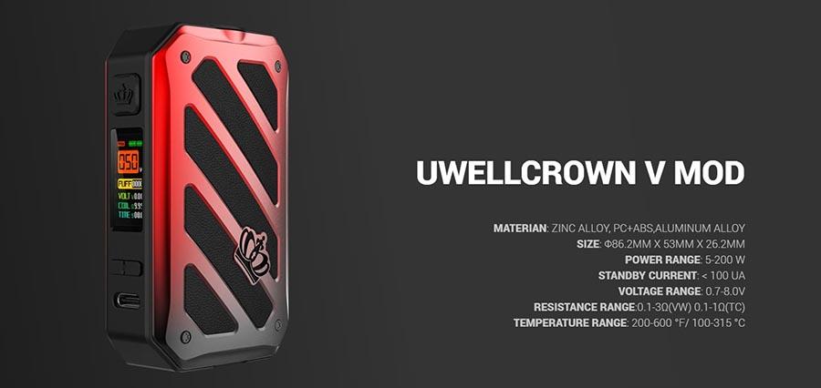 Uwell Crown 5 sada www.e-smoke.sk