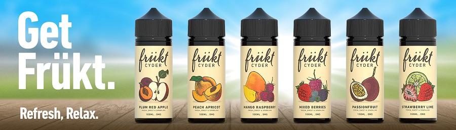 Frukt e-liquids www.e-smoke.sk