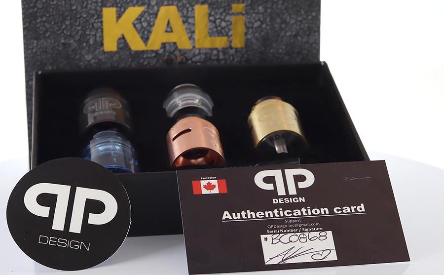 QP Design Kali V2 RDA / RSA