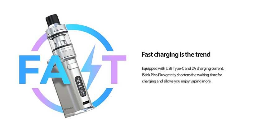 Eleaf iStick Pico Plus 75W Grip (www.e-smoke.sk)