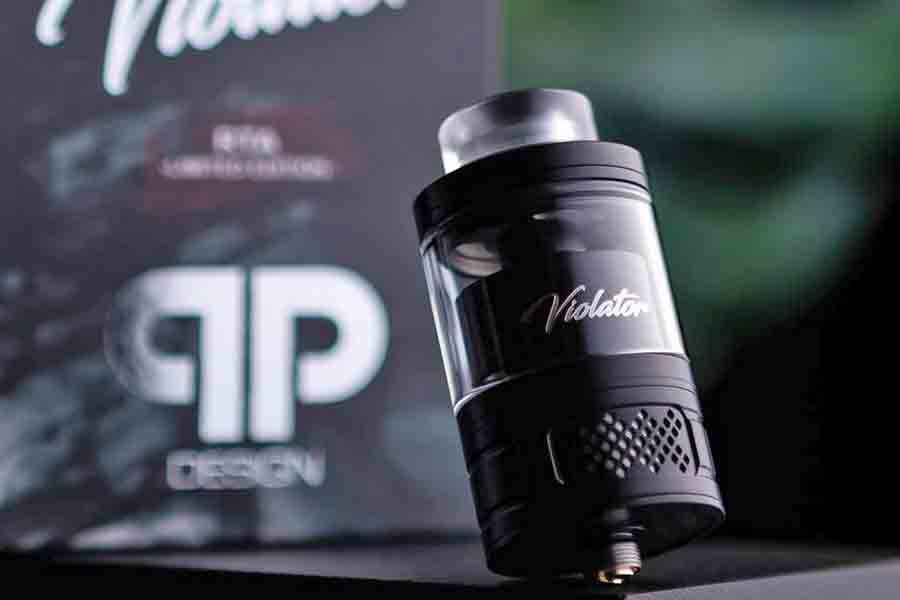 qp Design Violator RTA - 25mm, 4ml/5,5ml (www.e-smoke.sk)