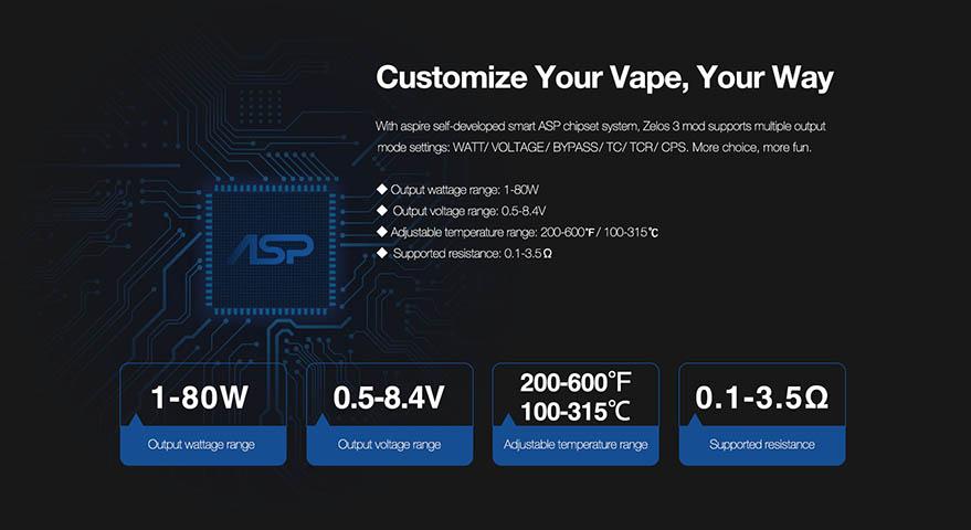 Aspire Zelos 3 80W www.e-smoke.sk