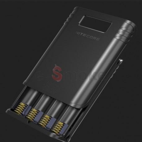 Nitrecore F4 nabíjačka na štyri batérie+ powerbank