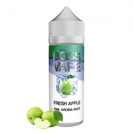 120 ml Fresh Apple Boss Vape - 20ml Sh&V