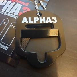 Alpha3 otvárač na fľašky
