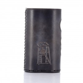 DANI BOX 21700 kožené púzdro_čierna tieňovaná