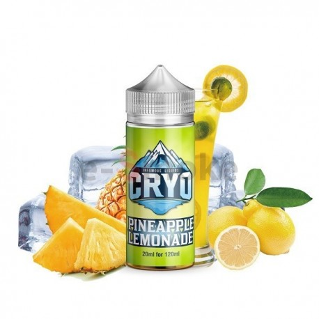 120 ml Pineapple Lemonade INFAMOUS CRYO - 20ml S&V