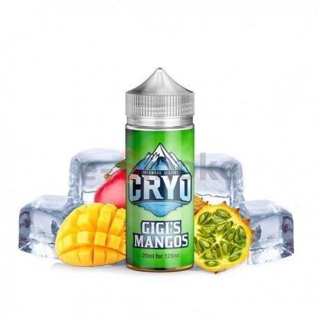 120 ml Gigi's Mango INFAMOUS CRYO - 20ml S&V