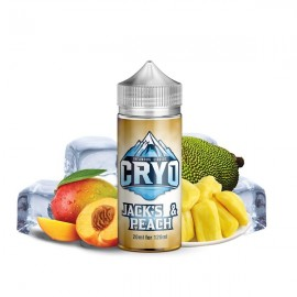 120 ml Jack's & Peach INFAMOUS CRYO - 20ml Shake&Vape
