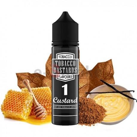 60 ml Custard No.1 Tobacco Bastards - 12 ml S&V