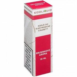 10 ml Cranberry ECOLIQUID e-liquid