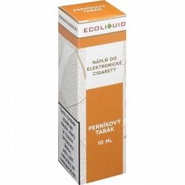 10 ml Ginberbread Tobacco ECOLIQUID e-liquid
