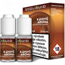 2-Pack Coffee ECOLIQUID e-liquid