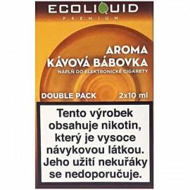 2-Pack Coffee Cake ECOLIQUID e-liquid