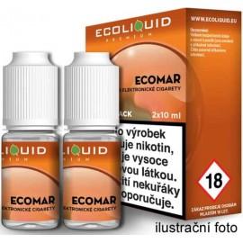 2-Pack Ecomar ECOLIQUID e-liquid