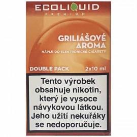 2-Pack Griliašové rezy ECOLIQUID e-liquid
