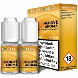 2-Pack Honey ECOLIQUID e-liquid