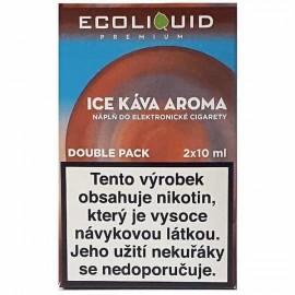 2-Pack Ice Coffee ECOLIQUID e-liquid
