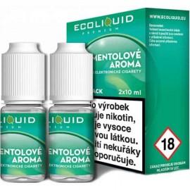 2-Pack Menthol ECOLIQUID e-liquid