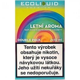 2-Pack Summer Flavor ECOLIQUID e-liquid