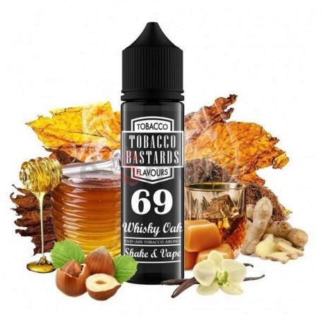60 ml Whisky Oak No.69 Tobacco Bastards - 12 ml S&V