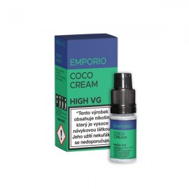 10 ml Coco Cream HIGH VG e-liquid