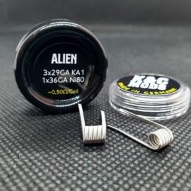 K&C Mods Ni80 Alien Clapton Coil 0,5Ω