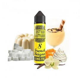 60 ml French Beignet Custard Bastard - 12ml S&V