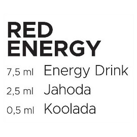 60 ml Red Energy Catch'a Bana MIX recept
