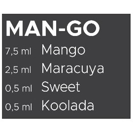 60 ml Man-GO Catch'a Bana MIX recept