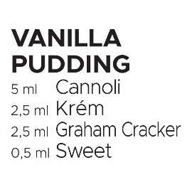 60 ml Vanilla Pudding Catch'a Bana MIX recept