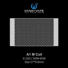 Vandy Vape A1 M Coil mesh 0.15ohm - 10ks