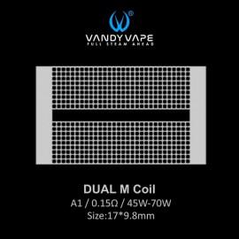 Vandy Vape DUAL M Coil mesh 0.15ohm - 10ks