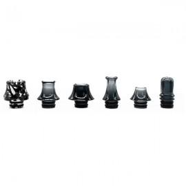 6-Pack Drip tips 510 Black