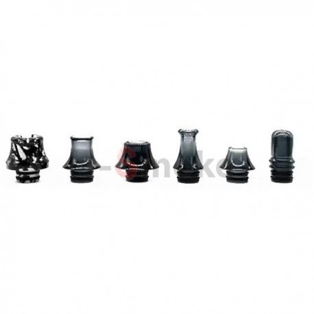 6-Pack Drip tips 510 Black