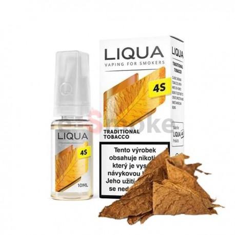 10 ml Traditional Tobacco Liqua 4s SALT e-liquid