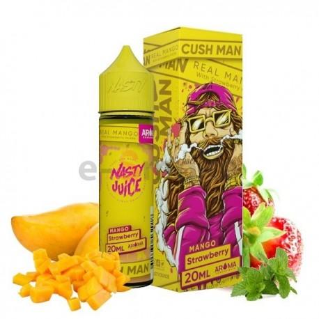 20/60 ml Mango Strawberry Cush Man Series Nasty Juice S&V