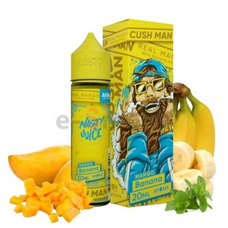 20/60 ml Mango Banana Cush Man Series Nasty Juice S&V