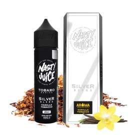 60 ml Silver Blend Tobacco Nasty Juice - 20ml S&V
