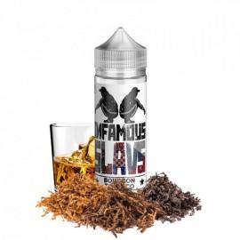 120 ml Bourbon Tobacco INFAMOUS Slavs - 20 ml S&V